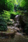 Waterfall In The Green