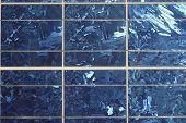 Closeup View Of Solar Panel