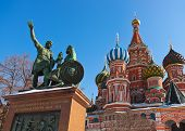 Saint Basil Cathedral On Red Square, Moscow