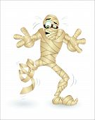Cartoon Mummy Vector