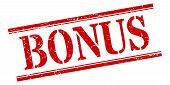Bonus Stamp. Bonus Square Grunge Sign. Bonus poster