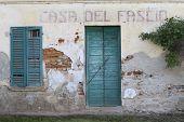 Italian Abandoned Building From World War Ii