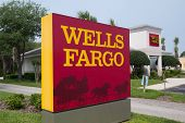 JACKSONVILLE, FL-APR 8: A Wells Fargo Bank Branch in Jacksonville, Florida on April 8, 2012. Wells F