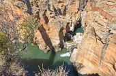 Bourke's Luck Potholes in Blyde River Canyon, South Africa