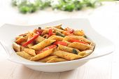 Pasta With Spicy Pepper Sauce