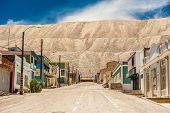 Ghost Town (chacabuco) Ghost Town From The Saltpeter Mining Era Near Chuquicamata, World`s Biggest O poster