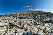 Scenery of Burren in Co. Clare, Ireland