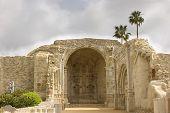 Mission San Juan Capistrano Stone Church