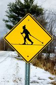 X-C Ski Sign