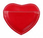 Love message holder heart shaped