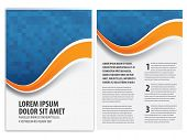pic of insert  - vector business brochure - JPG
