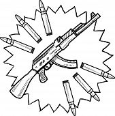 Assault weapons sketch