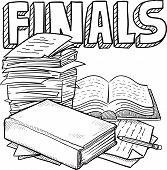 Final exam sketch