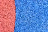 stock photo of olympic stadium construction  - Texture of color rubber floor on playground - JPG