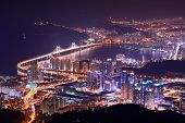 stock photo of south east asia  - Skyline of Busan - JPG