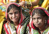 picture of traditional attire  - PUSHKAR INDIA  - JPG