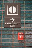 Fire Alarm And Emergency Exit
