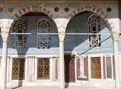 stock photo of harem  - A Building in Topkapi Palace - JPG