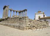 Ruins Of An Ancient Roman Temple