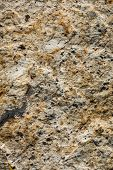 Stone Background of mottled granite igneous rock