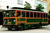 Old Fashioned Trolley coche