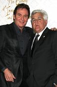 LOS ANGELES - OCT 13:  Jeff Trachta, Jay Leno at the 10th Alfred Mann Foundation Gala at Robinson-Ma