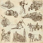 Austria Illustrations