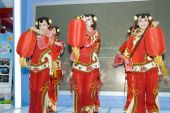 Chinese Culture - Dancers From Shanxi