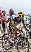 The Cylist Alberto Contador