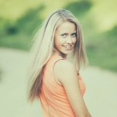 beautiful girl sensual portrait