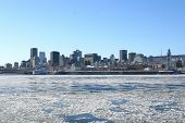 Montreal city, Canada in winter