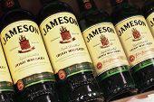 Various Bottle Of Jameson Irish Whiskey