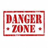 Danger Zone-stamp