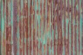 Background Texture Of Rusty Corrugated Iron