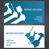 Business Card For Home Repair