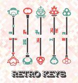 Vector Set: Retro Keys