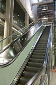 Escalator At Station Heumarkt In Cologne
