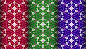 Colorful Gazania Pattern