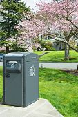 Waste Management Solar Trash Compactor