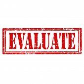Evaluate-stamp