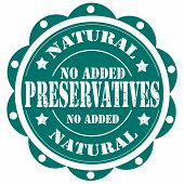 Preservatives-stamp