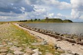 Ruin Landscape Castle Denmark