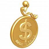 Made In China Dollar Coin