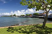 View of Lahaina's Front street, Maui, Hawaii