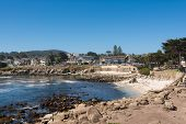 The beach in Monterey, California