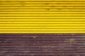 Two Color Fence