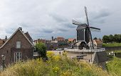 City Of Heusden With Mill