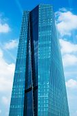 European Central Bank Main Eurotower in Frankfurt am Main, Germany