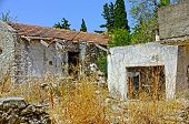 Old house in ruins