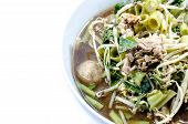 stock photo of thai food  - Noodle Thai Noodle Thai Noodle meat  - JPG